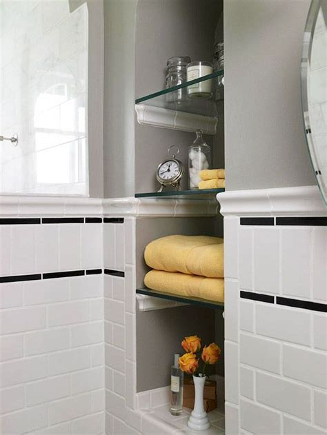 bathroom alcove shelves 94 best bathroom niches shelving storage images on