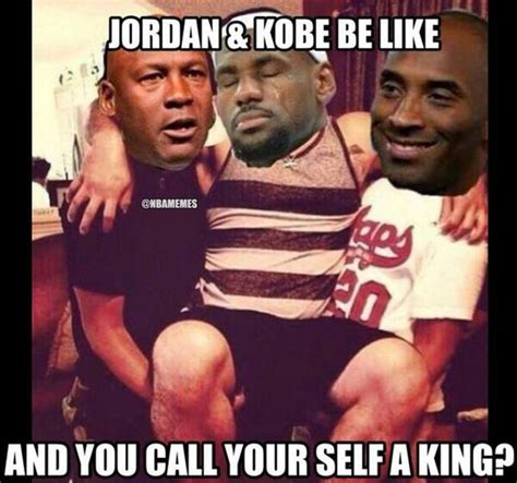 Kobe Lebron Jordan Meme - nba memes on twitter quot kobe bryant and michael jordan when