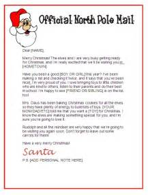 Free Template Letter From Santa Printable Santa Claus Letter Paper New Calendar Template Site