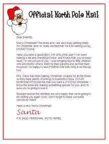Free Santa Letter Template Santa Claus Letter Paper New Calendar Template Site