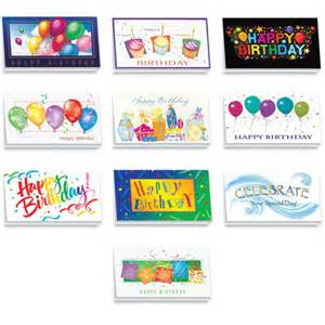 assorted birthday cards for business festive birthday card assortment