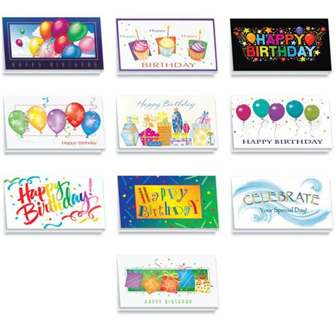 Assorted Birthday Cards For Employees Festive Birthday Card Assortment For Employees And Clients