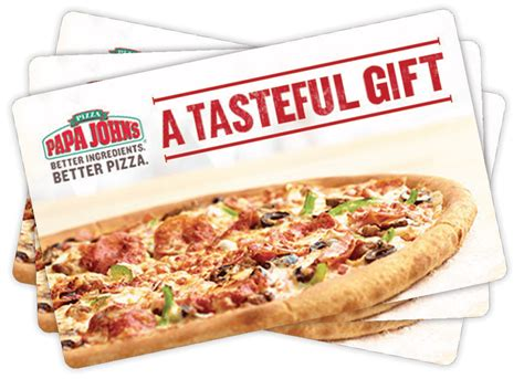 Free Papa John S Gift Card - papa john s pizza order for delivery or carryout