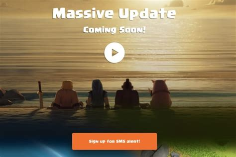 clash of clans boat update review clash of clans boat update download first at release time
