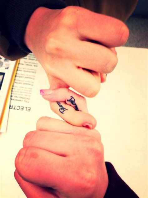 best friend finger tattoos 36 finger tattoos for best friends