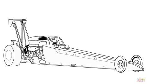 coloring pages of funny cars drag racing cars coloring pages drag racing car designs