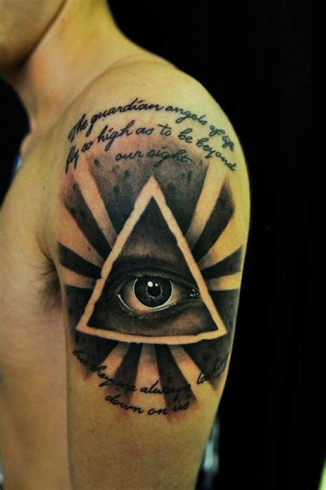 all seeing eye tattoo by thick mcrunfast on deviantart