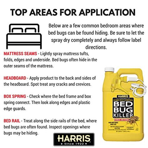 harris bed bug killer review harris bed bug killer liquid spray with odorless and non staining extended residual