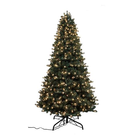 home accents holiday 9 ft spruce quick set artificial