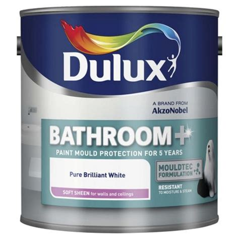 Dulux Bathroom Paint Yellow Buy Dulux Bathroom From Our Emulsion Paint Range Tesco