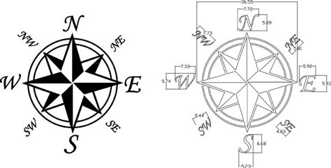 compass template printable compass template cliparts co
