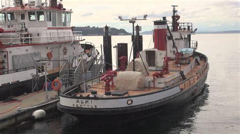 fireboat leschi seattle fireboat alki leschi youtube