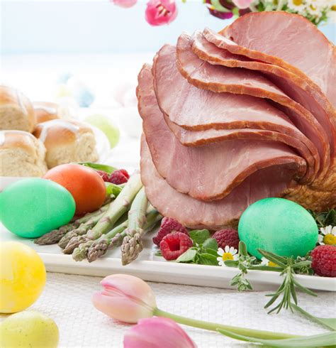 baked easter ham recipe dishmaps
