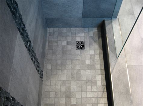 Shower Stall Floor by Torotech Tile Installation Professionals Professional