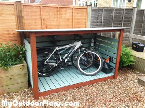 Your Bike Shed by Diy Bike Shed Myoutdoorplans Free Woodworking Plans