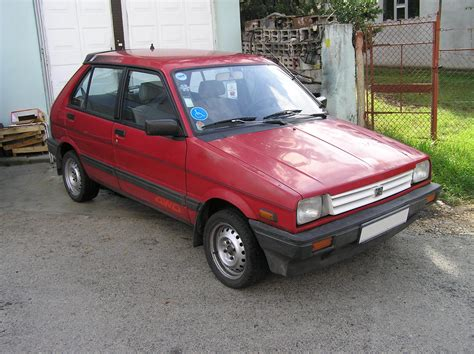 1992 subaru justy overview cars com subaru justy overview cargurus