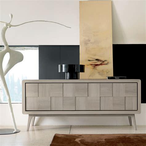credenze moderne credenza con 3 ante in legno massello design moderno nensi