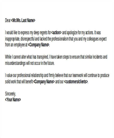 Customer Service Apology Letter Sle Up Sorry Letter 28 Images Doc 7281031 Exle Letter Of Apology Apology Letter Best General