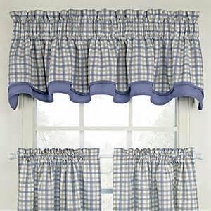 Plaid Kitchen Curtains Valances Buy Plaid Valances From Bed Bath Beyond