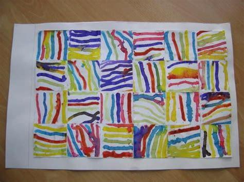 Assemblage De Traits Verticaux Arts Plastiques Arts