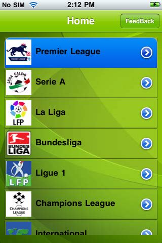 the footy room footyroom app for iphone sports app by