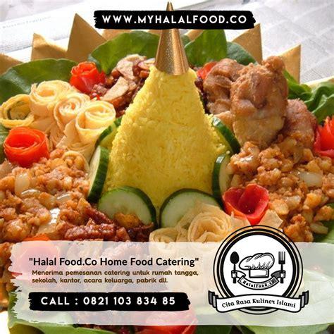 catering nasi tumpeng myhalalfood cita rasa kuliner islami