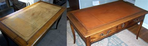 leather top desk gallery mullaly furniture finishing