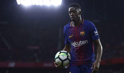 ousmane dembele injury report barcelona news zidane learns of huge messi twist in