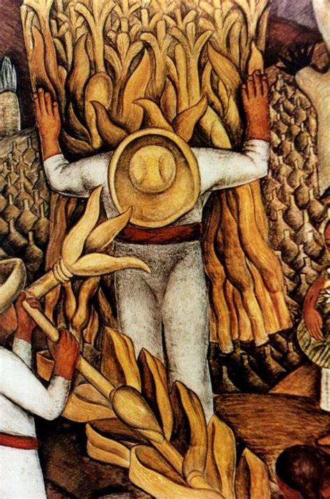Diego Rivera Famous Artwork by Frescoe Paintings Mexican Muralists