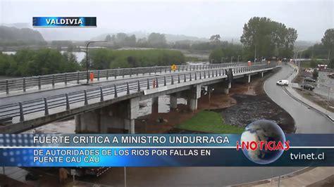 puente cau cau caducan contrato a constructora puente cau cau en
