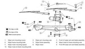 honda cr v 2004 windshield wiper parts diagram honda free engine image for user manual