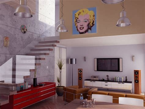 artist living room 10 modern pop living room interior design ideas https interioridea net