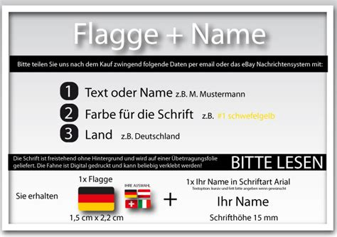 Fahrrad Aufkleber Name Flagge by Namensaufkleber Ihr Name Als Aufkleber F 252 R Auto Fahrrad