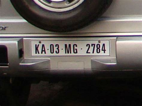 Car Types By Registration by Different Car Registration Number Plates In India Drivespark