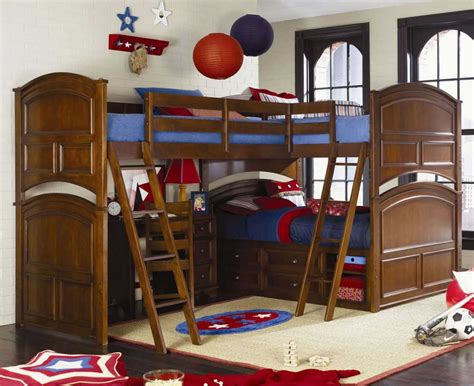 bunk bed with desk plans wood bunk beds with desk plans
