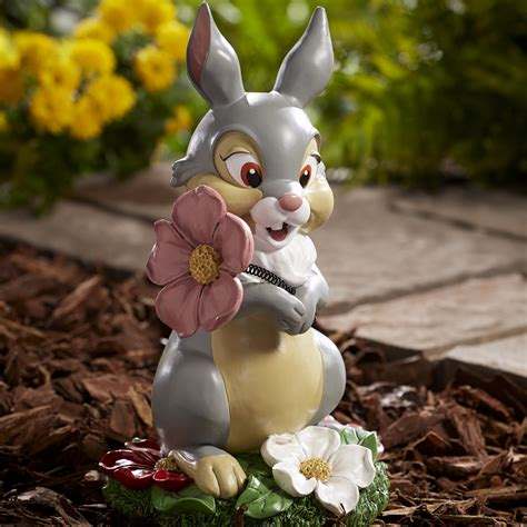disney thumper statue outdoor living outdoor decor lawn ornaments statues