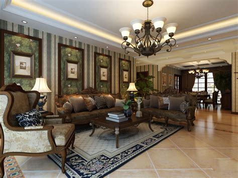 livingroom com luxury classic living room design
