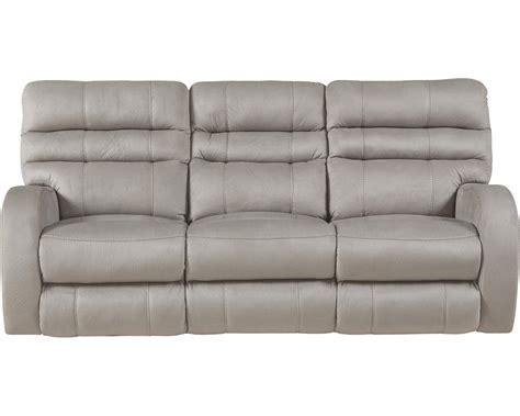 lay flat reclining sofa catnapper kelsey power headrest power lay flat reclining