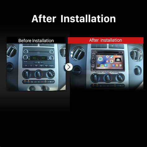 old car manuals online 2007 ford f350 navigation system seicane s127302 quad core pure android 5 1 1 dvd gps in dash radio system for 2005 2009 ford