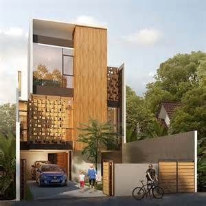 house of melati modern townhouse in indonesia
