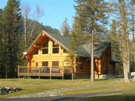 log cabin home shell hallamore lake log home package