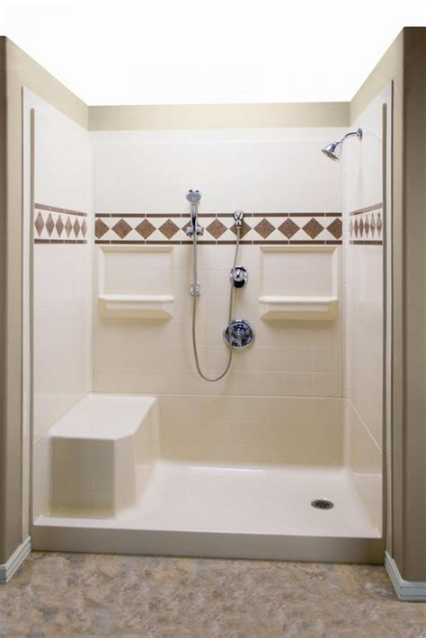 built in shower benches 23 bathroom designs with handicap showers messagenote