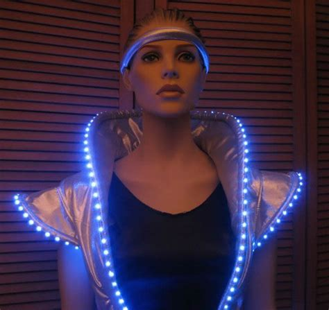 space themed clothing lighted space dress enlighted illuminated clothing