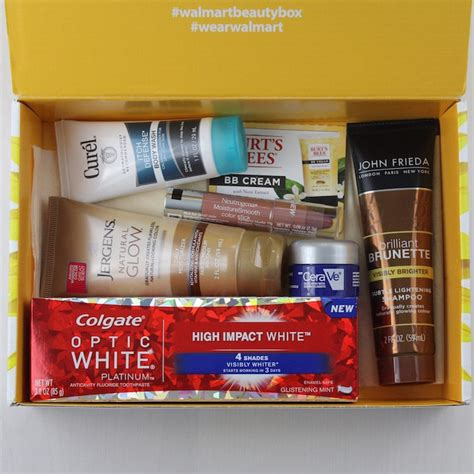 walmart beauty box subscription review spring 2015 my walmart beauty box subscription review spring 2016 my