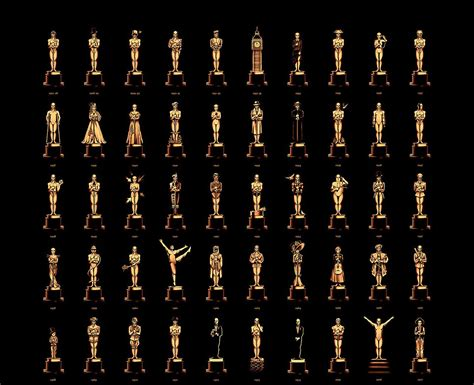 best film in oscar award olly moss oscars tribute poster to every best film