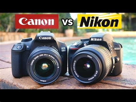 which canon is the best canon t6 vs nikon d3300 which is the best beginner dslr