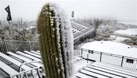 arizona pga section snow for pga is not so rare for tucson professional