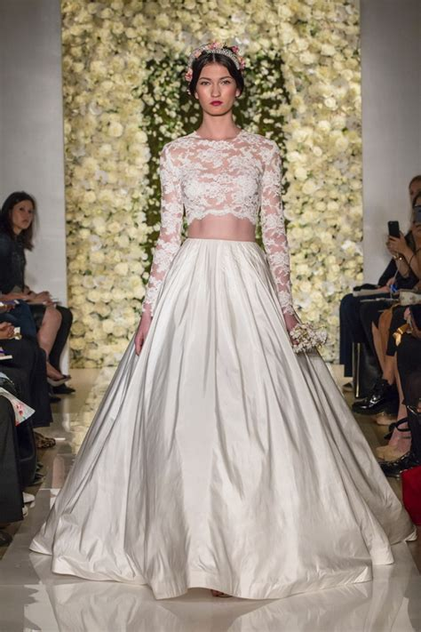 Top 7 Wedding Dress Trends for Fall 2015   Tulle