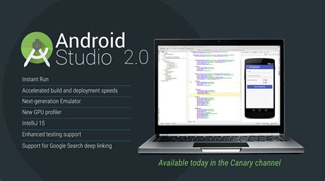 android studio 2 0 aims at speeding up android app development with android studio 2 0 gizmoids