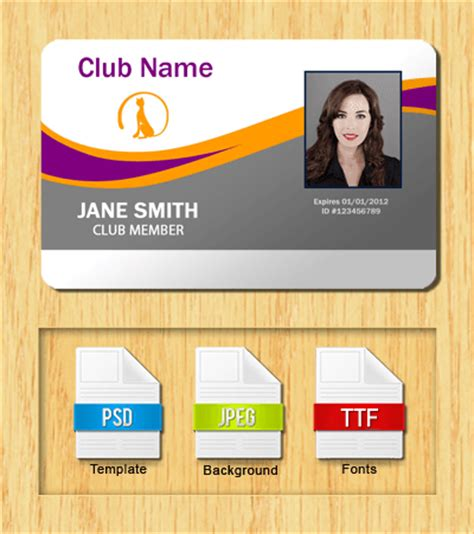 club card template membership card template front and back vip member card